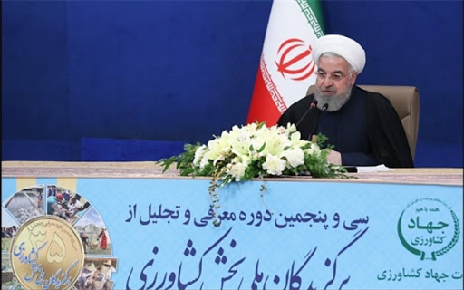 iranian agricultural news agency: 19 did not disrupt our country's food security